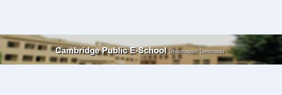 Cambridge Public e - School